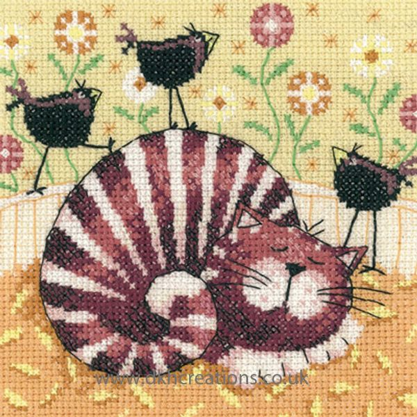 Bird Of A Feather Cross Stitch Kit